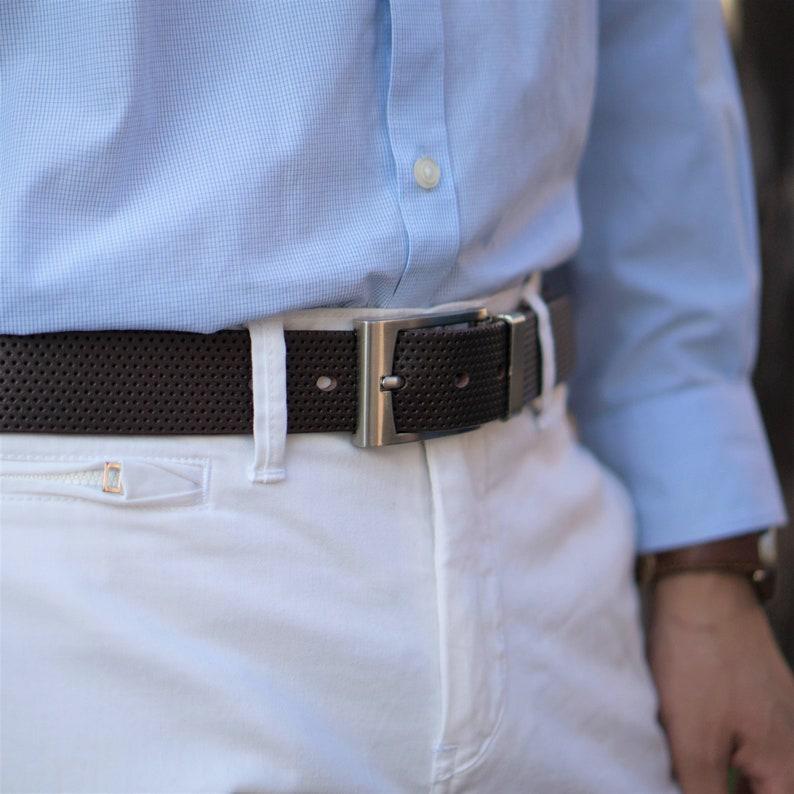 Full Grain Leather Belt Made in Canada Gift for Him Gift for Dad Mens Formal Leather Belt Men/'s Dress Belt Belt for Dress Pants