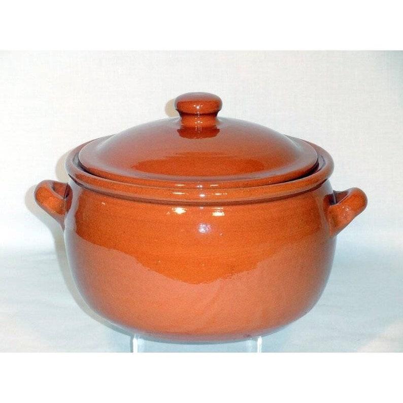 Pot de cuisson en argile naturelle 3 litres en argile - Clay Handi - 100% matériaux naturels - Qualité impressionnante