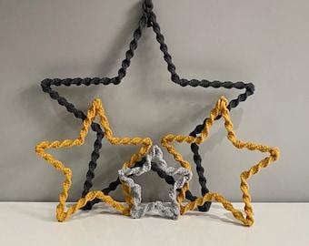 Macrame Twist Star