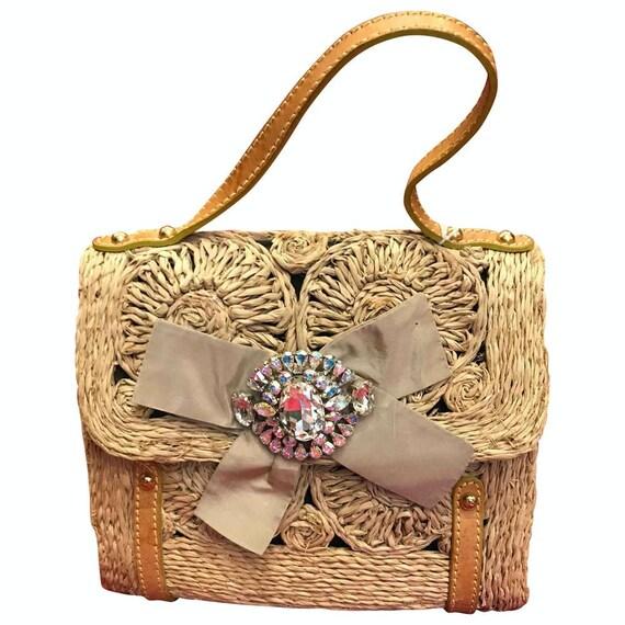 Christian Lacroix Women's Strass Knot Handbag