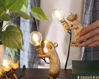 Mouse lamp | Etsy