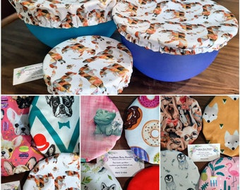 Flat cover, pul bowl covers