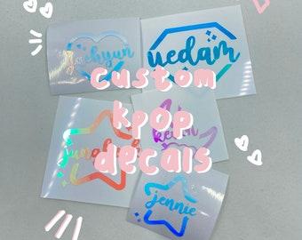 custom kpop decals