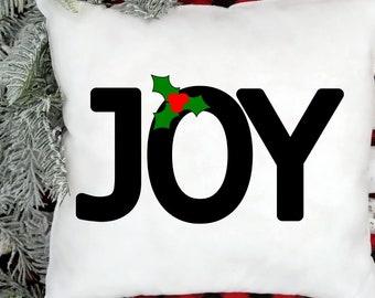 Joy Christmas svg cut file   holiday cutting file   cricut christmas