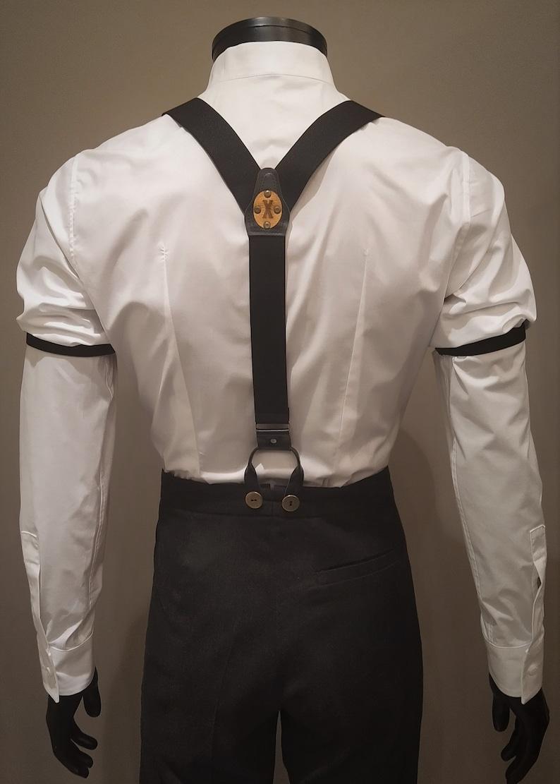 Men's Vintage Style Suspenders Braces   AT vintagedancer.com