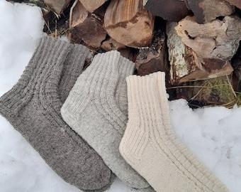 Kids Yak Wool Warm Winter Mongolian Ski Socks Size Toddler 8-11 FREE Shipping