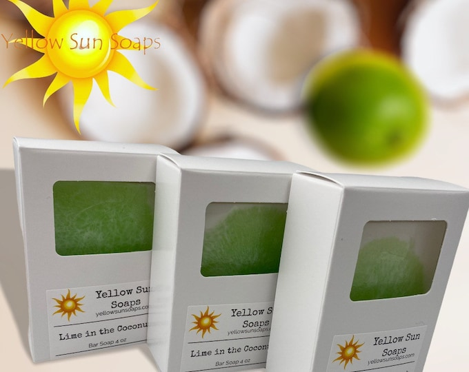 Lime in the Coconut Bar Soap