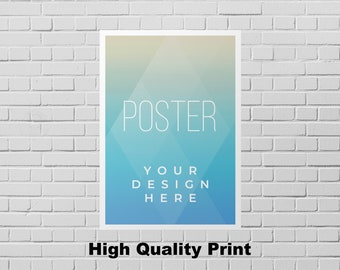Custom Poster Printing - Personalized Poster- Family Photo Poster - Wedding Poster