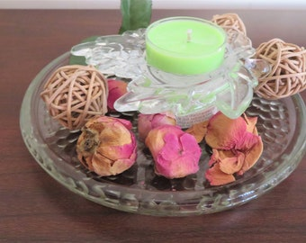 Pine & Orange Blossom Scented Hand Poured Fragrance Oil Natural Soy Wax Tealights 6 In A Package Medium Scented