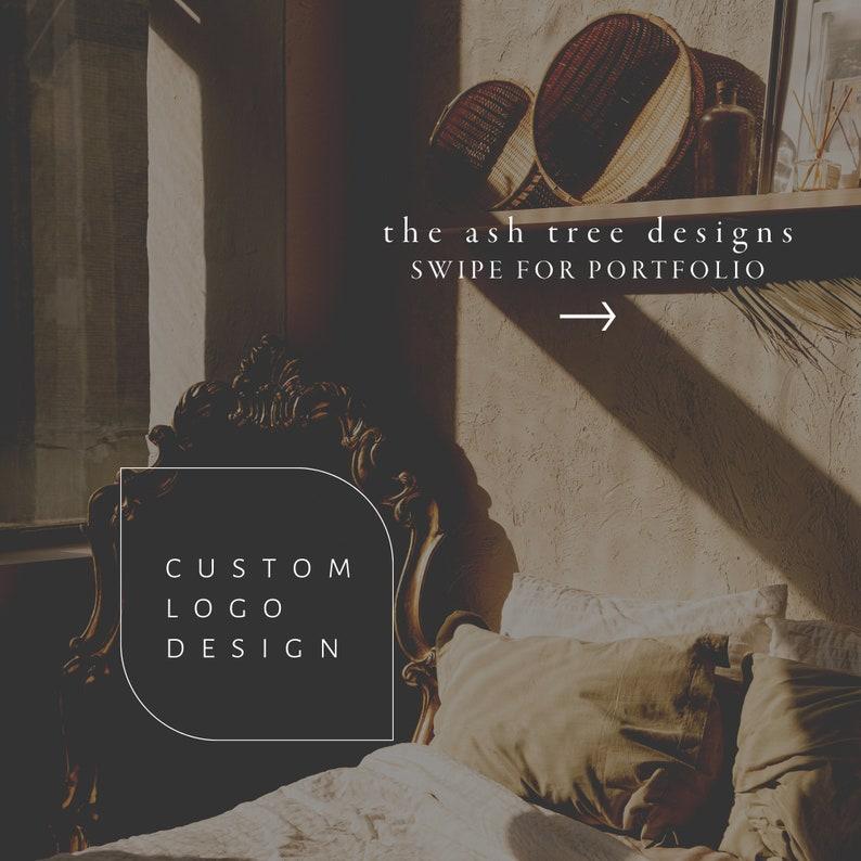 Custom Hand Drawn Logo minimalist image 1