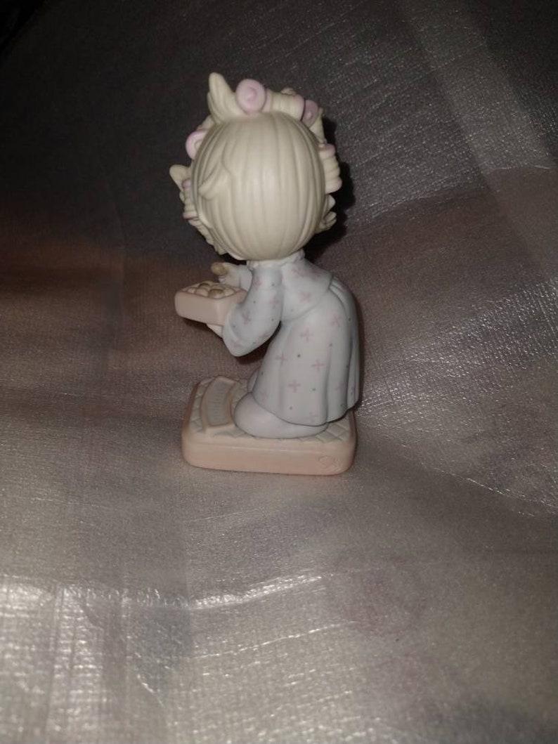 1986 Samuel Butcher The Spirit Is Willing But The Flesh Is Weak Enesco Figurine
