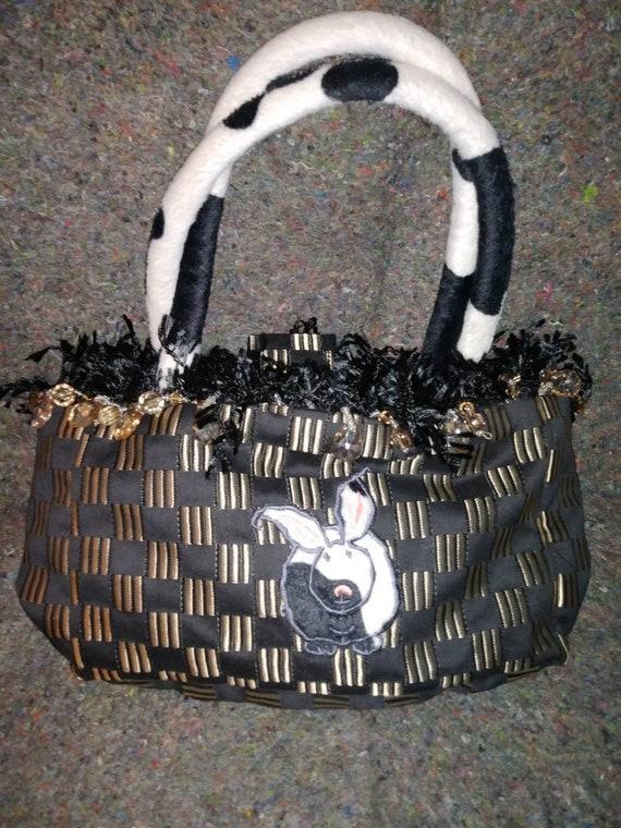Cowbunnie Hand Bag by Susie Stern