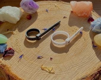 Reusable UK Ring Sizer