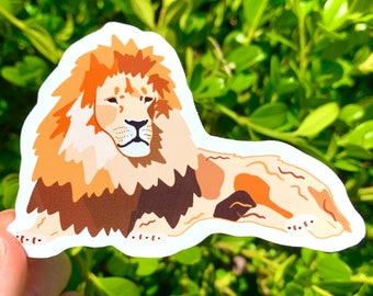 Lion Sticker | Wild Animal Stickers