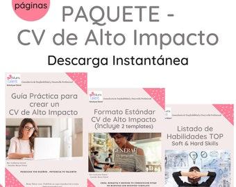 Bundle CV / Resumen Curricular de Alto Impacto