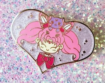 """Magical Girl Chibi 2"""" Hard Enamel Pin"""
