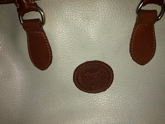 VINTAGE Brown Satchel Handbag