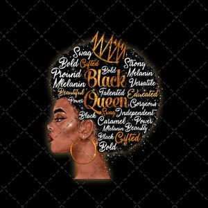 Black Woman png I Don/'t Have Attitude I/'ve Got A Personality You Can/'t Handle png Sublimation Digital Download Digital Printed File