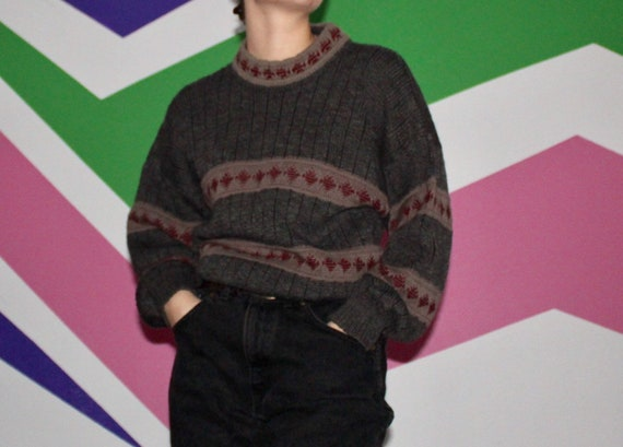 Vintage 90s Unisex Wool Knit