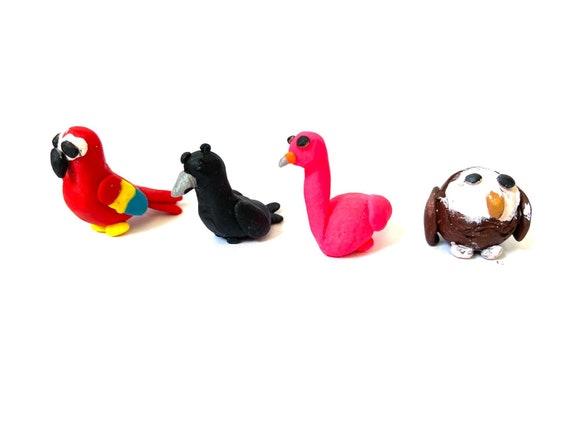 Roblox Adopt Me Legendary Pets Parrot Crow Flamingo Owl Etsy