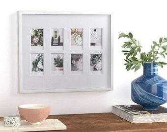 Instax Polaroid Prints Frame | Custom Instant Photos |Camera Roll Polaroids Framed Gift Ideas | Remembering Pet | Baby Birthday College Grad