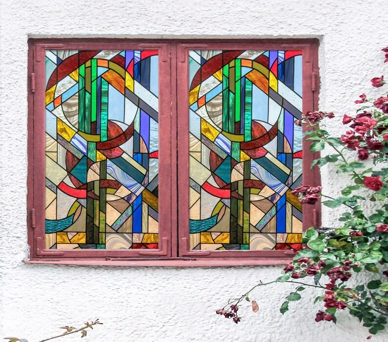 3D Farbe Grafiken W515 Fenster Film Druck Aufkleber Cling ...