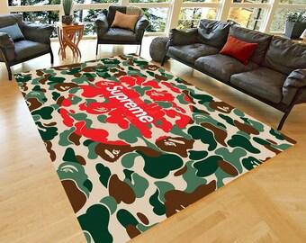 Fan Carpet NonSlip Floor Carpet,Teen/'s Carpet Supreme 17  Carpet