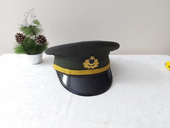 Vintage Original Soldier Cap, Turkish Officer Cap,