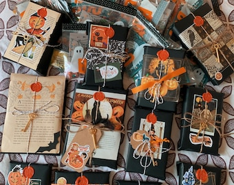Blind Date With A Book , Mystery Book , Book Gift , Surprise Book , Halloween Themed , Halloween Gift , Gift For BookWorm , Horror Book