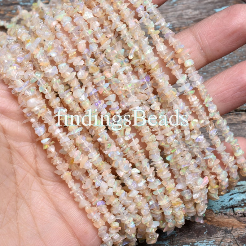 Ethiopian Opal Chips Beads Natural Ethiopian Opal Uncut Chips Gemstone Beads Top Fine Quality Ethiopian opal Raw Smooth Nuggets Beads