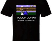 Touch Down Tecmo Bowl Barry Sanders Video Game T Shirt Unisex T-Shirt for Men Women
