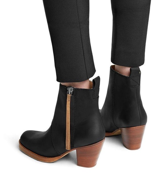 Acne studios heel boots booties ankle shoes
