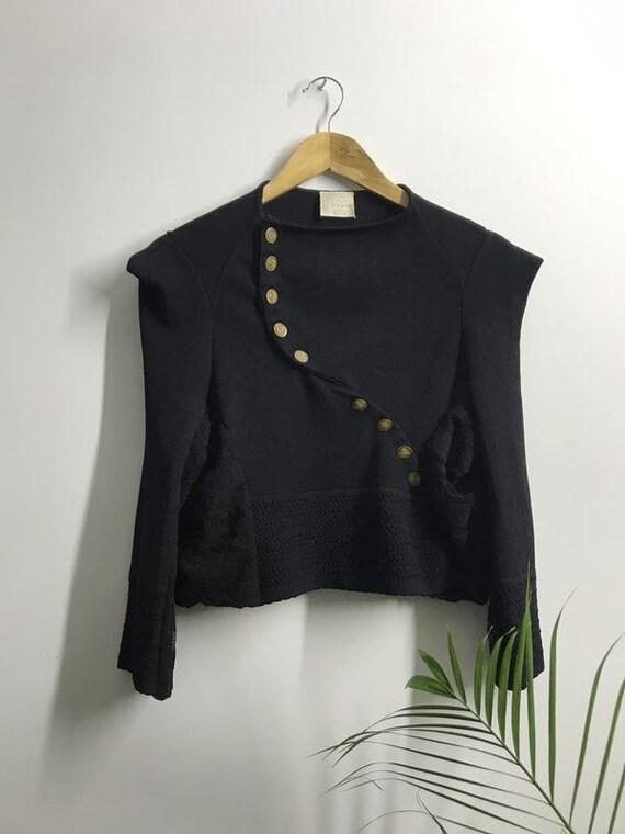 Vivienne westwood gold label knitwear blazer butto