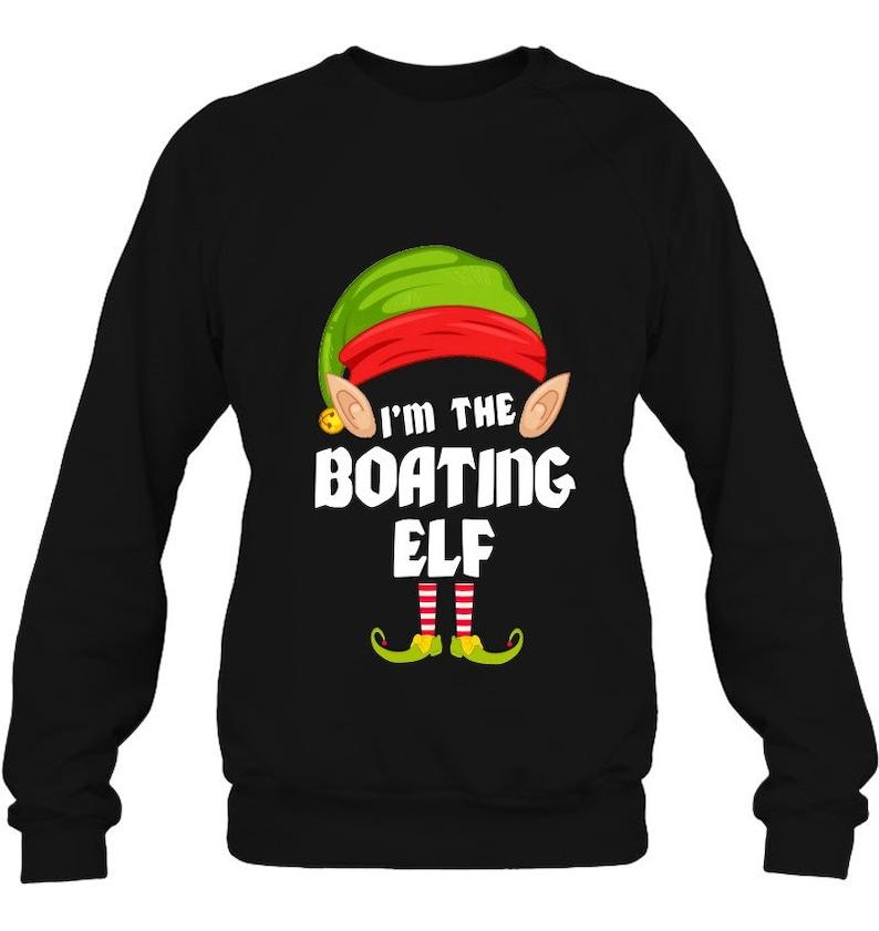 Funny Boating Elf Matching Family Group Pj Christmas pajamas christmas gifts christmas tshirt  family shirts christmas family outfits tees