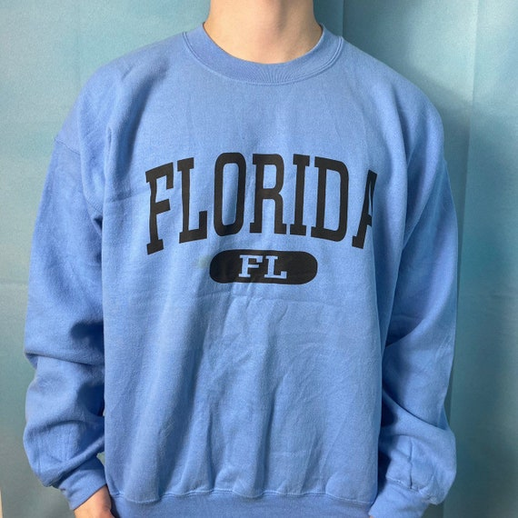 Baby Blue American Vintage Gildan 'Florida' USA Co