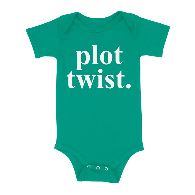 Plot Twist Surprise Baby Expected Baby Hilarious Great Gift Parenthood New Baby Baby Shower Gender Reveal New Parents Baby Onesie