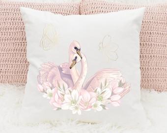Swan Pillow Etsy