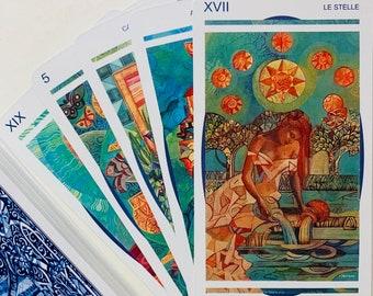 Crystal Tarot 78 Cards Deck,Tarot,Tarot Deck,Tarot Card Deck,Tarot Deck 78 Cards,Tarot Deck for Beginners,Unique Tarot Cards, Tarot Gifts