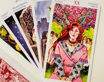 Celtic Tarot 78 Cards Deck,Tarot,Tarot Deck,Tarot Deck 78 Cards,Oracle Cards,Tarot for Life,New Tarot Decks,Tarot Cards Deck,Unique Tarot