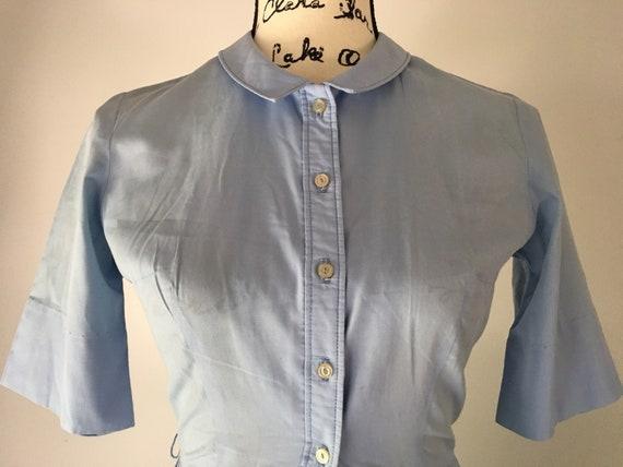 VTG Baby Blue Dress Junior Size 7