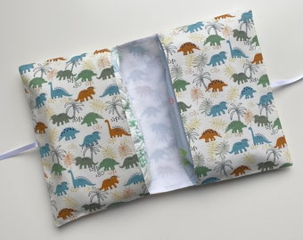 SALE Nappy clutch Diaper clutch nappy wallet with travel change mat Waterproof lining /'Giraffe/' grey Fantastic baby shower gift.