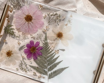 """Floral Vanity Tray 