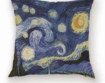 Starry Night Pillow Etsy