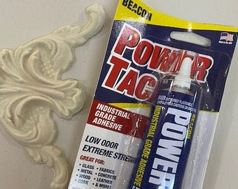 PowerTac Industrial Strength Glue for EFEX trims, molds and embellishments
