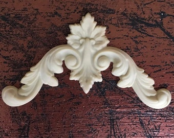 EFEX French Country Corner Set of 2, Moulding, Historic Moulding, Silicone Moulding, Embellishment , Furniture Restoration , FREE SHIPPING