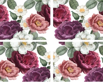 New Dixie Belle Floral Romance transfer, rub on decal , furniture transfer, Belles & Whistles Shipping Late March