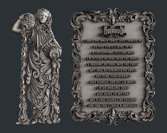 Zuri  AQUARIUS MOLD,  ZODIAC mold,  zodiac, Aquarius, mould , decor mold , candy , chocolate mold, mixed media, Resin mold, Free shipping,