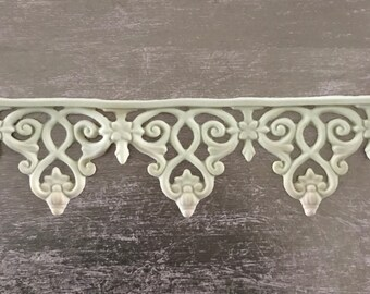 EFEX Greek Scroll Trim , Moulding, Historic Moulding, Silicone Moulding, Embellishment , Furniture Restoration , FREE SHIPPING