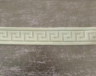 EFEX Greek Key Trim , Moulding, Historic Moulding, Silicone Moulding, Embellishment , Furniture Restoration , FREE SHIPPING