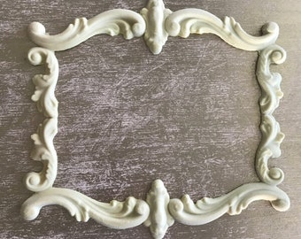 EFEX French Scroll Frame , Moulding, Historic Moulding, Silicone Moulding, Embellishment , Furniture Restoration , FREE SHIPPING